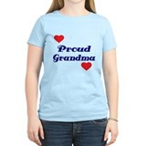 Proud Grandma with hearts T-Shirt