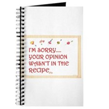 Cooking humor Journal