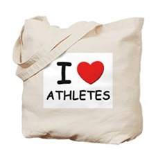 I love athletes Tote Bag