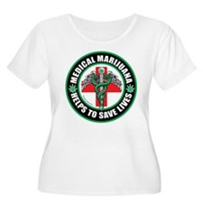 Medical Marijuana Helps T-Shirt