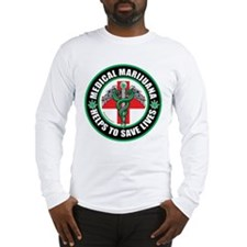 Medical Marijuana Helps Long Sleeve T-Shirt