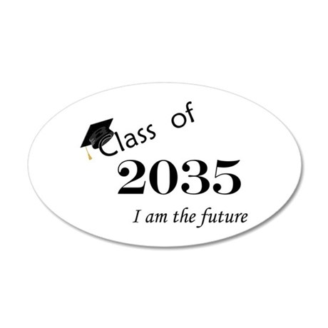 Born in 2013/Class of 2035 20x12 Oval Wall Decal