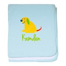 Kamden Loves Puppies baby blanket