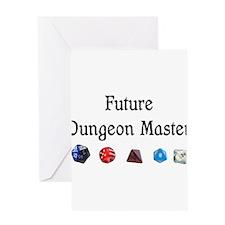 Future Dungeon Master Greeting Card