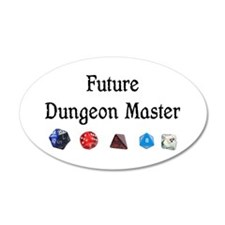 Future Dungeon Master Wall Decal