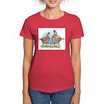 Cornish Chickens WLRed Women's Dark T-Shirt
