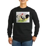 Dutch Bantams Long Sleeve Dark T-Shirt