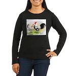 Dutch Bantams Women's Long Sleeve Dark T-Shirt