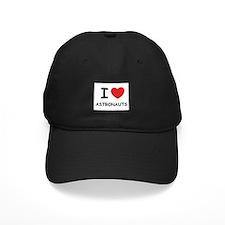 I love astronauts Baseball Hat