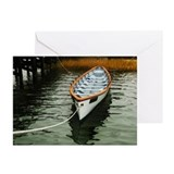 Cute On a boat Greeting Cards (Pk of 20)