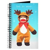 Reindeer Sock Monkey Journal