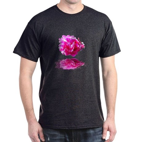 Peony Reflections Dark T-Shirt