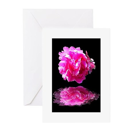 Peony Reflections Greeting Cards (Pk of 10)