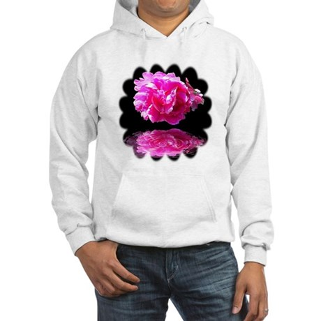 Peony Reflections Hooded Sweatshirt