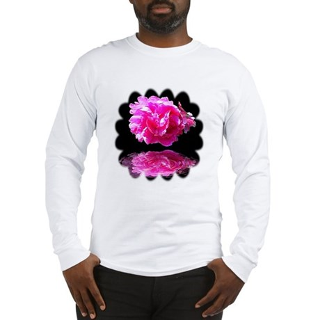 Peony Reflections Long Sleeve T-Shirt
