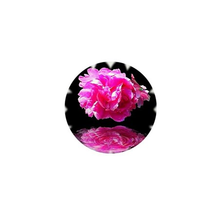 Peony Reflections Mini Button