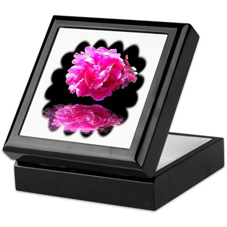 Peony Reflections Keepsake Box