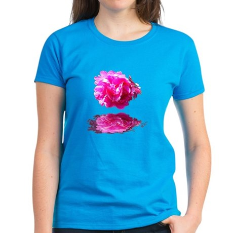 Peony Reflections Women's Dark T-Shirt