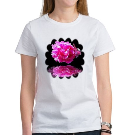 Peony Reflections Women's T-Shirt