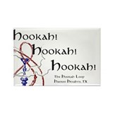 Hookah Smoking Caterpillar Rectangle Magnet