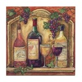 Wine Collection Tile Coaster