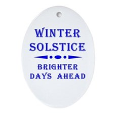 Solstice Oval Ornament