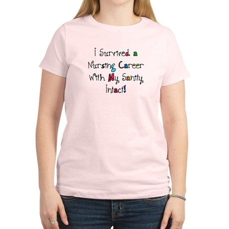 i survived nursing WORDS T-Shirt