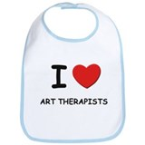 I love art therapists Bib