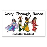 ISAMETD Unity Through Dance Decal