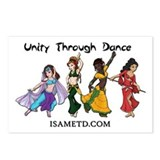 ISAMETD Unity Through Dance Postcards (Package of