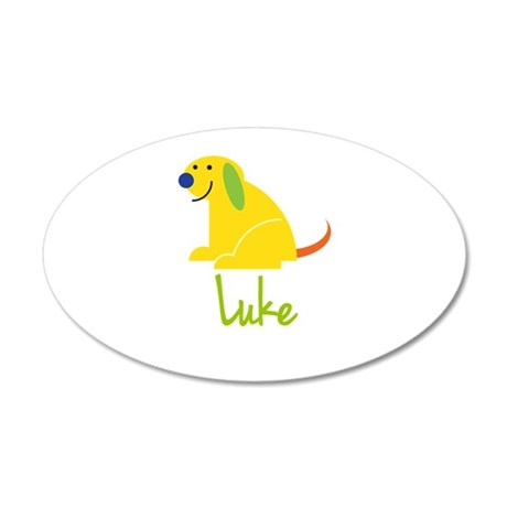 Luke Loves Puppies Wall Decal