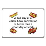 Comic Book Conventions Banner