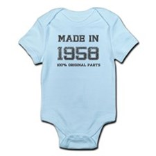 MADE IN 1958 100 PERCENT ORIGINAL PARTS Body Suit