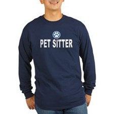 Pet Sitter Blue Stripes T