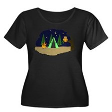 Campsite Plus Size T-Shirt