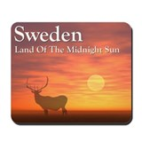 Land Of The Midnightsun Mousepad