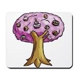 Cake Tree Mousepad