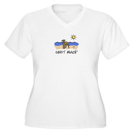 GreytBeach_10x10_smallTop1 Plus Size T-Shirt