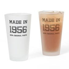 MADE IN 1956 100 PERCENT ORIGINAL PARTS Drinking G