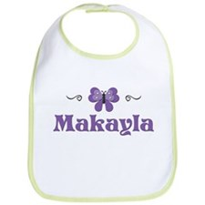 Purple Butterfly - Makayla Bib