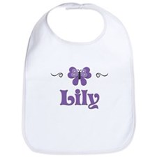 Purple Butterfly - Lily Bib