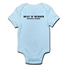 MEAT IS MURDER DELICIOUS MURDER Body Suit