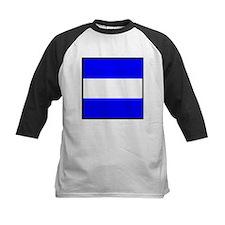 Nautical Flag Code Juliet Baseball Jersey