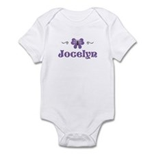 Purple Butterfly - Jocelyn Infant Bodysuit