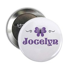 Purple Butterfly - Jocelyn Button