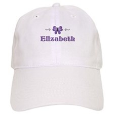 Purple Butterfly - Elizabeth Baseball Cap