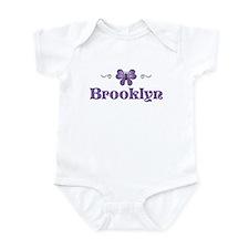Purple Butterfly - Brooklyn Infant Bodysuit