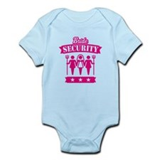 Bride Security (Hen Party / Pink) Infant Bodysuit
