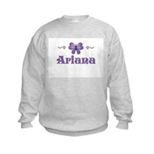 Purple Butterfly - Ariana Sweatshirt