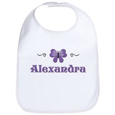Purple Butterfly - Alexandra Bib